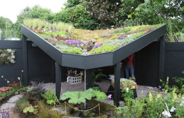 15 fotos de telhados ecológicos para você se inspirar