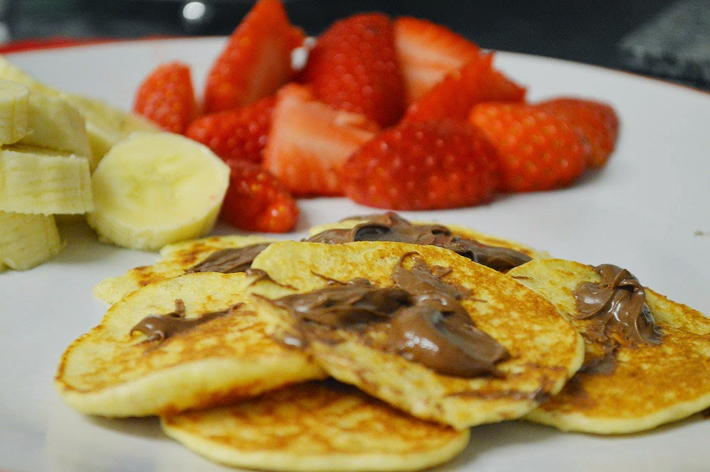 Slimming World friendly pancakes made with hex b