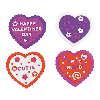 Daisy Girl Scout Valentine's Day craft kit for 12