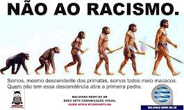 CONTRA O RACISMO, EM QUALQUER LUGAR.