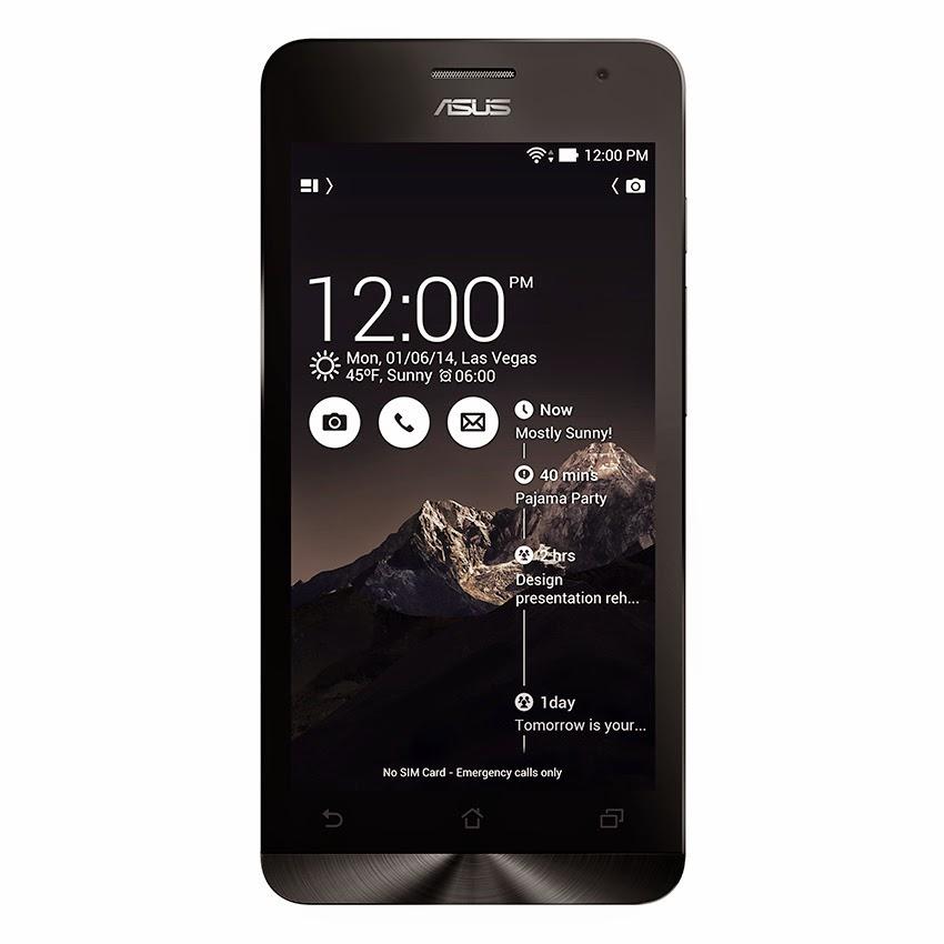 Harga Terbaru Asus Zenfone 5 A500CG  8GB  RAM 1GB Terbaru