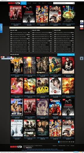 Chia sẻ template blogspot Hotav dành cho site phim