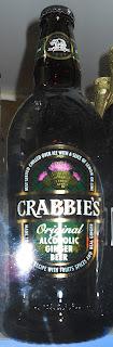 cerveza de jengibre Crabbies
