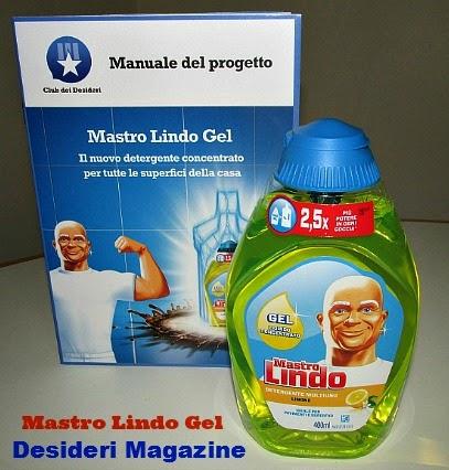 mastro lindo gel: detergente multiuso per tutte le superfici