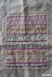 SAL Blackbird design her sampler