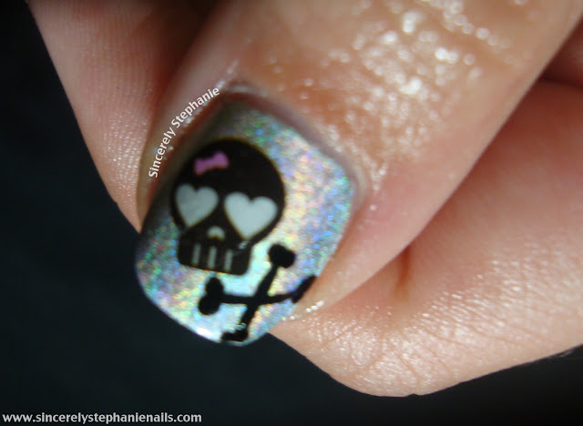 skull water decals