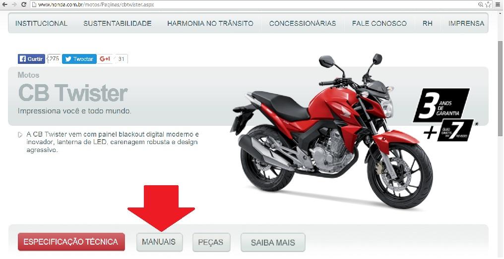 minha primeira moto dona honda e demais fabricantes agora a casa caiu rh minhaprimeiramoto blogspot com honda twister 250 manual honda twister 2016 manual