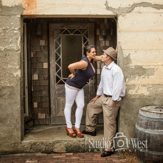 Couple Harmony Engagement Portraits