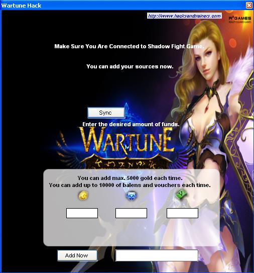 Wartune Cheats Tool