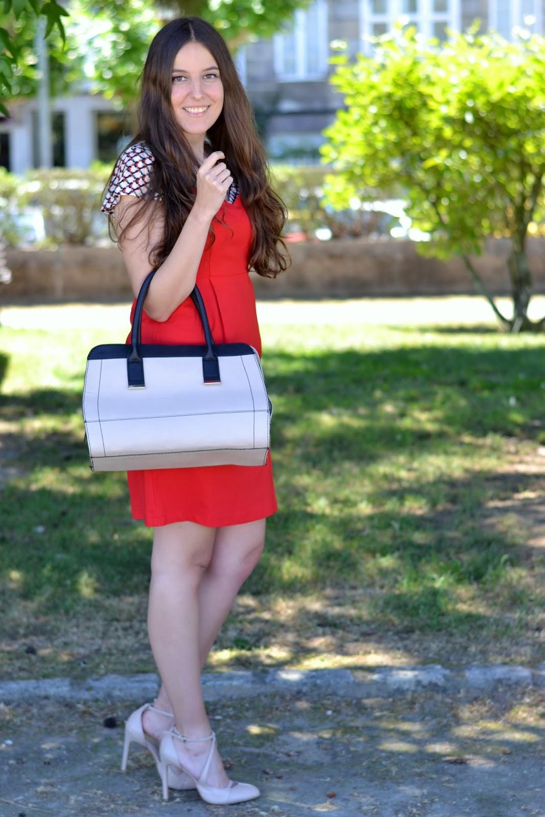 looks vestido rojo