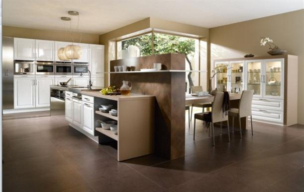 Contemporary French Style Kitchen Designs