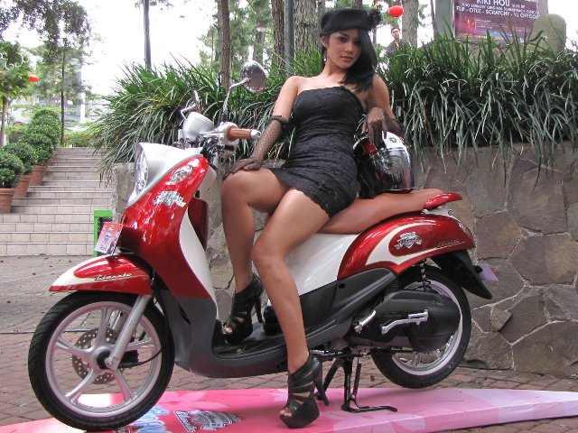 Modifikasi Yamaha Fino Fi Sporty