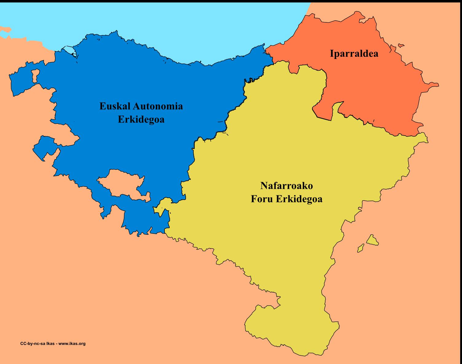 Mapa Euskal Herria. Escocia. Catalunya.  Flandes. Véneto. Independencia, referendum o consulta y derecho de autodeterminación.