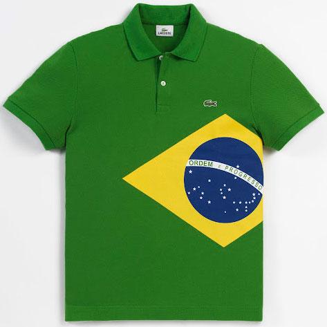 polo bandera de Brasil