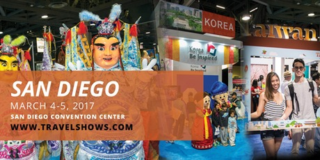 Don't miss the San Diego Travel & Adventure Show - March 4 & 5