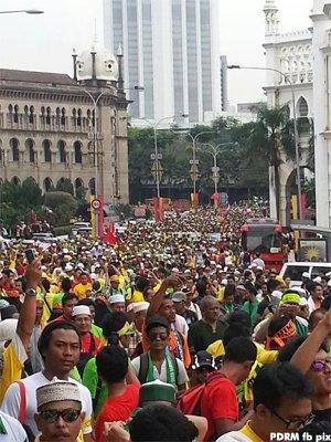 Gambar Himpunan Kebangkitan Rakyat