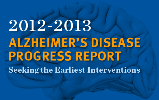 Alzheimer's Disease Progress Report