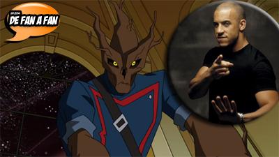 Guardianes de la Galaxia: Vin Diesel interpretará a Groot