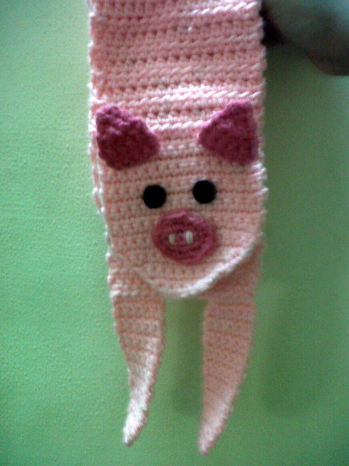 Piggy scarf The Anti-Social Butterfly
