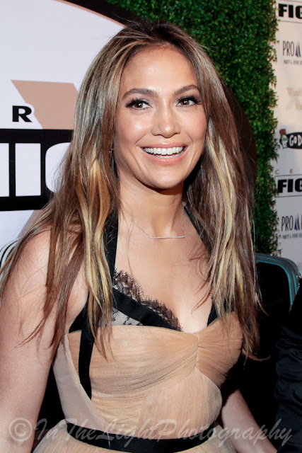 Celebrity Fight Night 2013 Red Carpet Jennifer Lopez