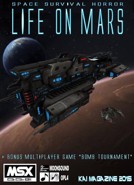 Life on Mars, el nuevo 'metroidvania' de Kai Magazine para MSX, disponible ya en reserva