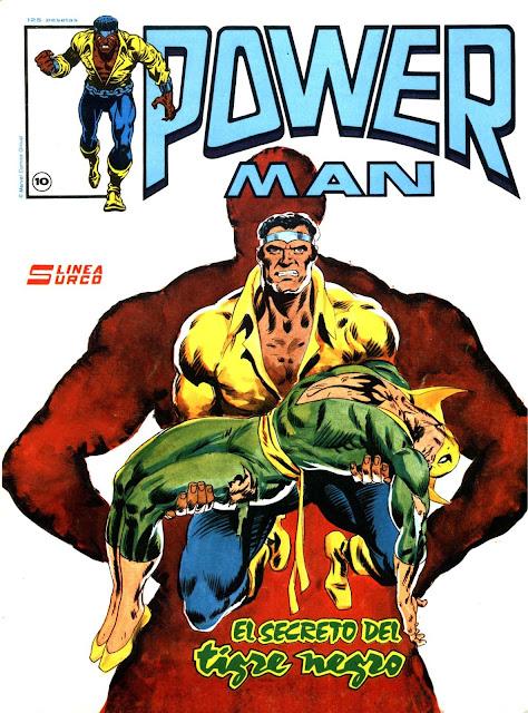 Portada de Powerman Nº 10 ediciones Surco