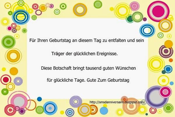 joyeux anniversaire mon frere en allemand