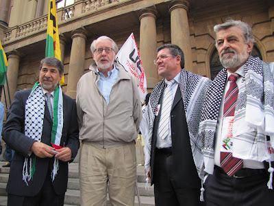 Ato histórico em São Paulo pelo Estado da Palestina Já - foto 4