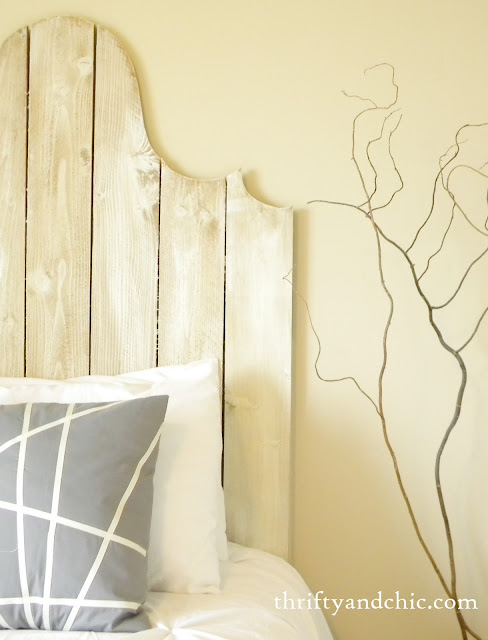 diy wood headboard