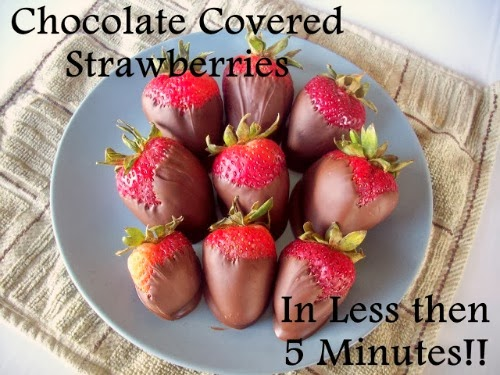 Easy chocolate covered strawberries Individual Cheesecake Hearts Recipe