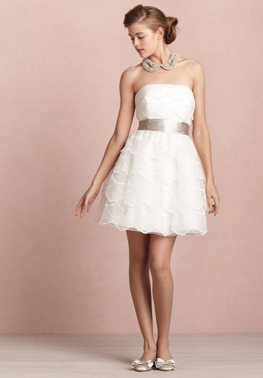 Wedding Reception Dresses: White Wedding Reception Dress In 2013