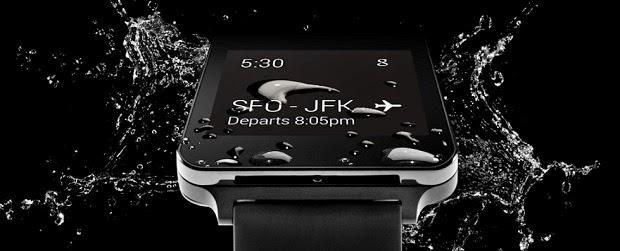 LG G Watch Resistente al Agua y al Polvo