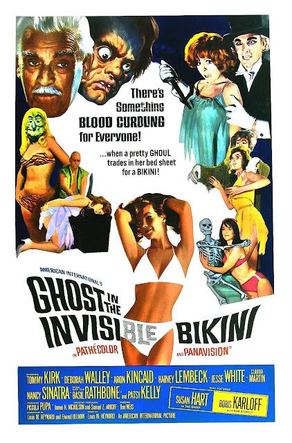 ghost in a tiny bikini. The Ghost in the Invisible Bikini (1966)