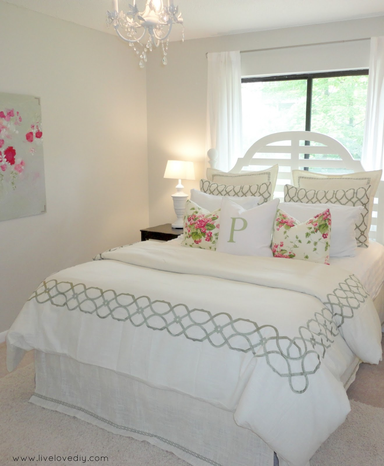LiveLoveDIY: Decorating Bedrooms With Secondhand Finds: The Guest Bedroom  Reveal
