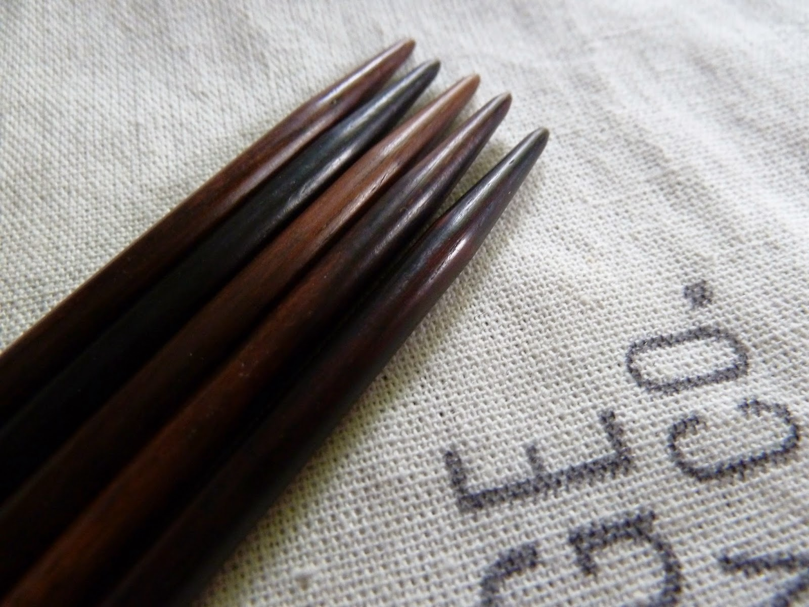 Rosewood DPNs from Fringe Supply Co close up