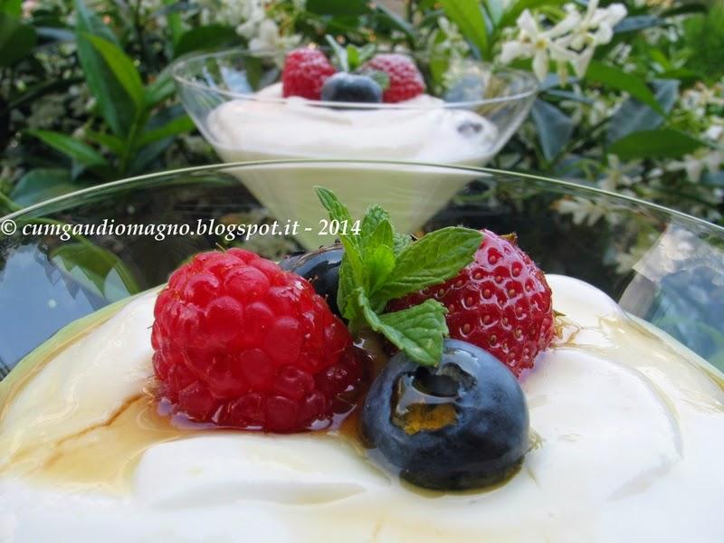 Cum gaudio magno dessert di yogurt greco e frutti di for Cucinare yogurt greco