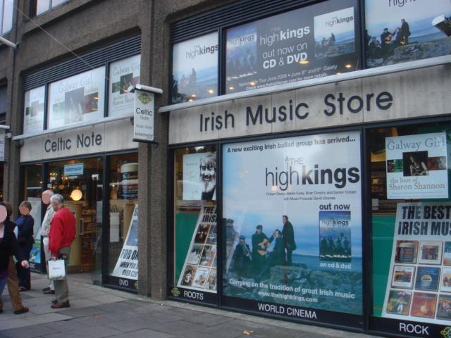 Celtic Note music shop