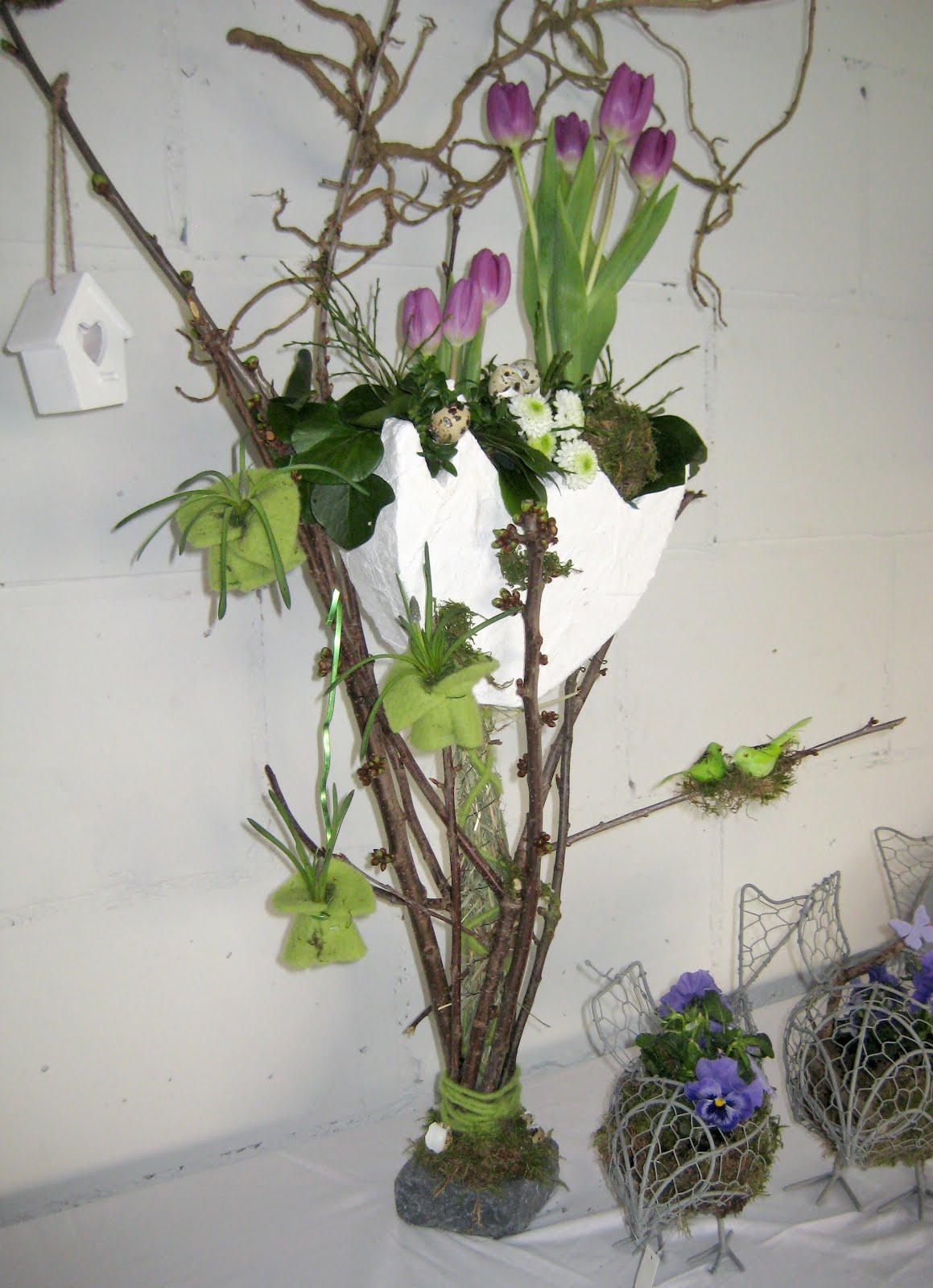 bloemschikken rosalie maart 2012