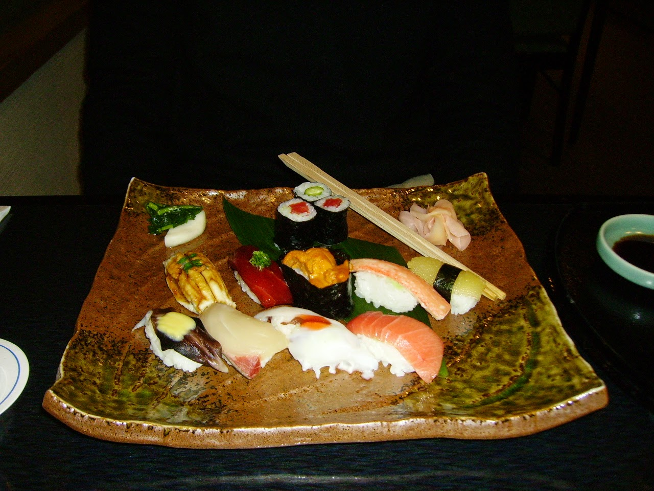 Sushi Christmas dinner Japan Japani