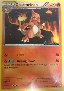 Charmeleon Boundaries Crossed Pokemon Card