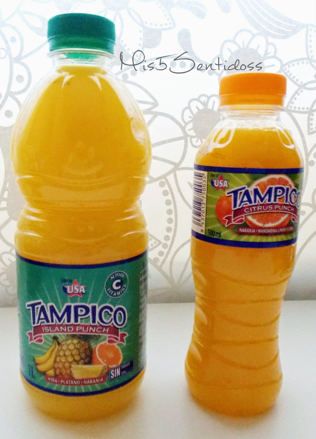 Caja degustabox 2014 Tampico Citrus Punch