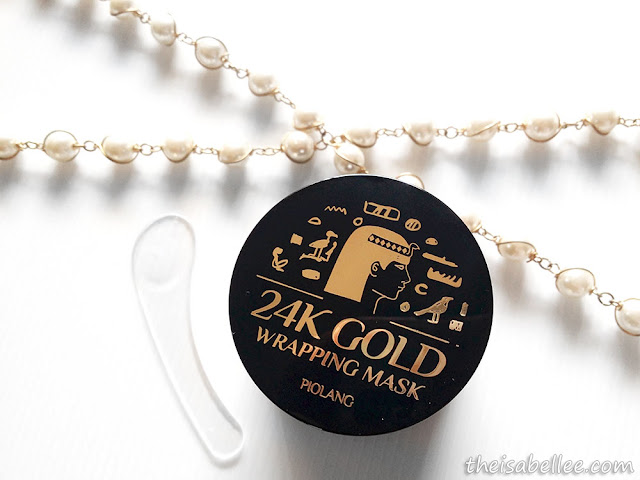 Piolang 24K Gold Wrapping Mask jar