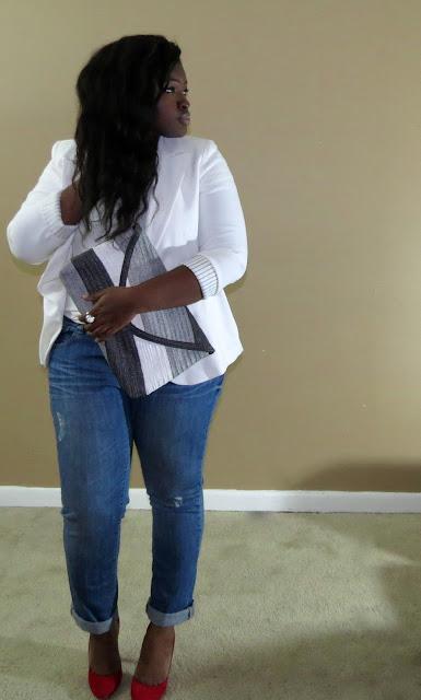 plus size boyfriend jeans denim