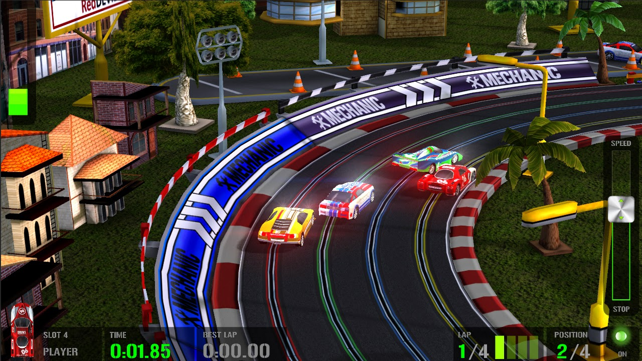 HTR plus Slot Car Simulation screenshots