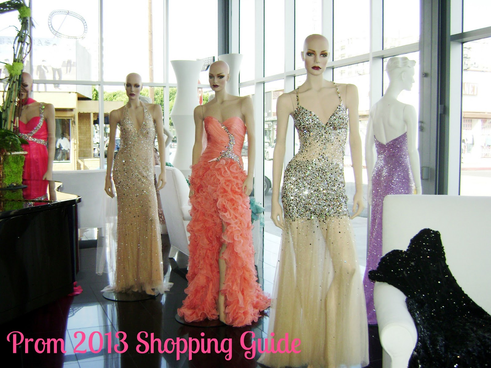 Downtown Los Angeles Fashion District Prom Dresses