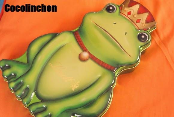 Cocolinchen : Frosch -Alarm - Schokoladige Frösche von Lindt
