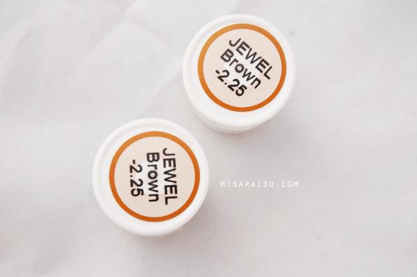 vassen jewel brown circle lens