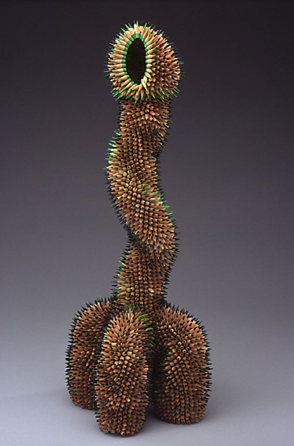 Colored Pencil Sculptures by Jennifer Maestre 4