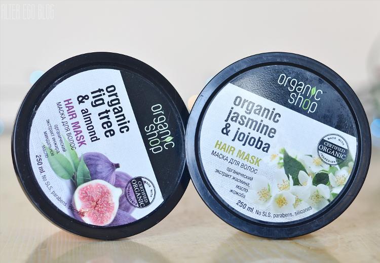 Ulubione maski | Organic shop, Indyjski jaśmin&jojoba, grecka figa&migdał