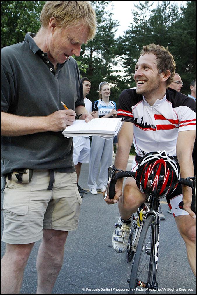 Les mardis cyclistes june 21 2011 jean francois laroche for Le miroir du cyclisme